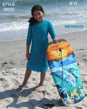 edb76be3a333f AQUA MODESTA GIRLS SWIM DRESS IN MERMAID COLOR STYLE 2600C PERFECT FOR ANY  BEACH DAY ! WWW.AQUAMODESTA.COM