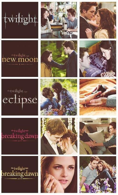 Twilight, new moon, eclipse, breaking dawn part 1, breaking dawn