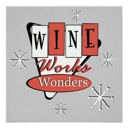 Wine works wonders ;)