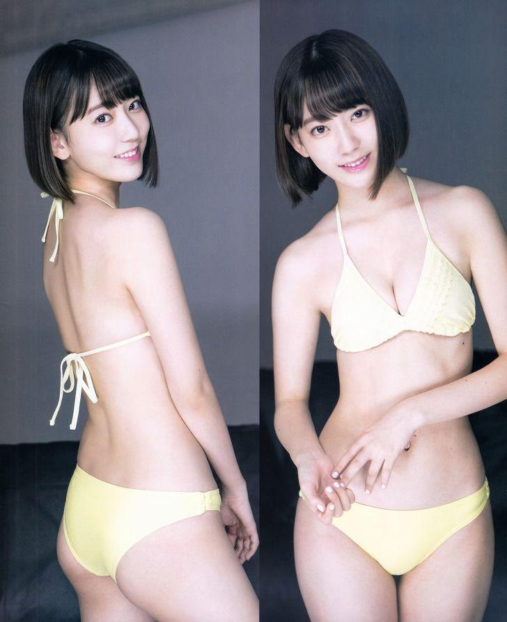Hkt48 Sakura Miyawaki Maji De Otona Na Yakei To Bikini On