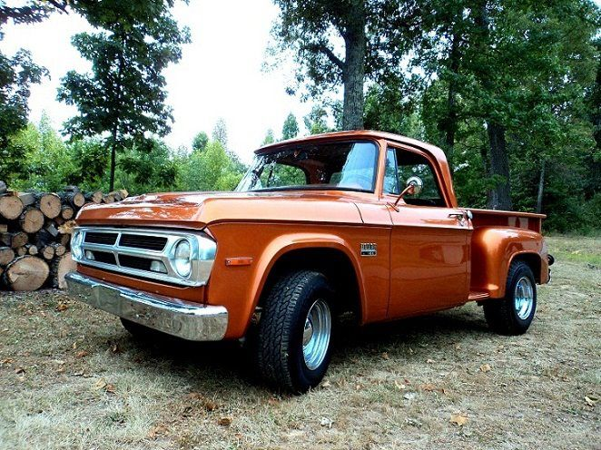1970 Dodge Truck Kentucky I Would Change The Color To Red With