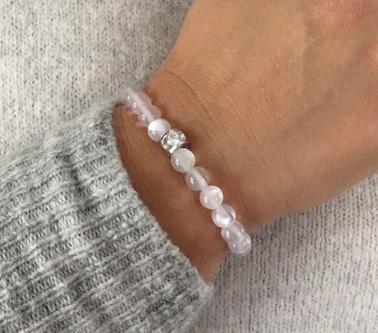 perle pandora blanche
