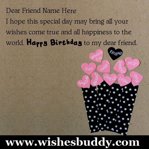 birthday wishes for best friendswishesbuddyhappy – Quotes for Best Friends Birthday Cards