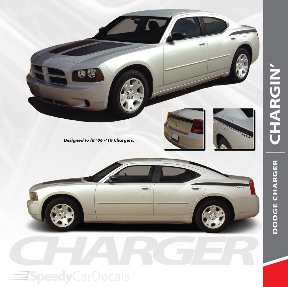 2006 Dodge Charger Decals Chargin 2006 2007 2008 2009 2010 Premium And Supreme Install Vinyl Dodge Charger Dodge Charger Models Charger Sxt
