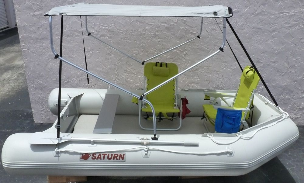 Saturn Extra Wide SD330W - Grey | Inflatable Fishing Boats | Small