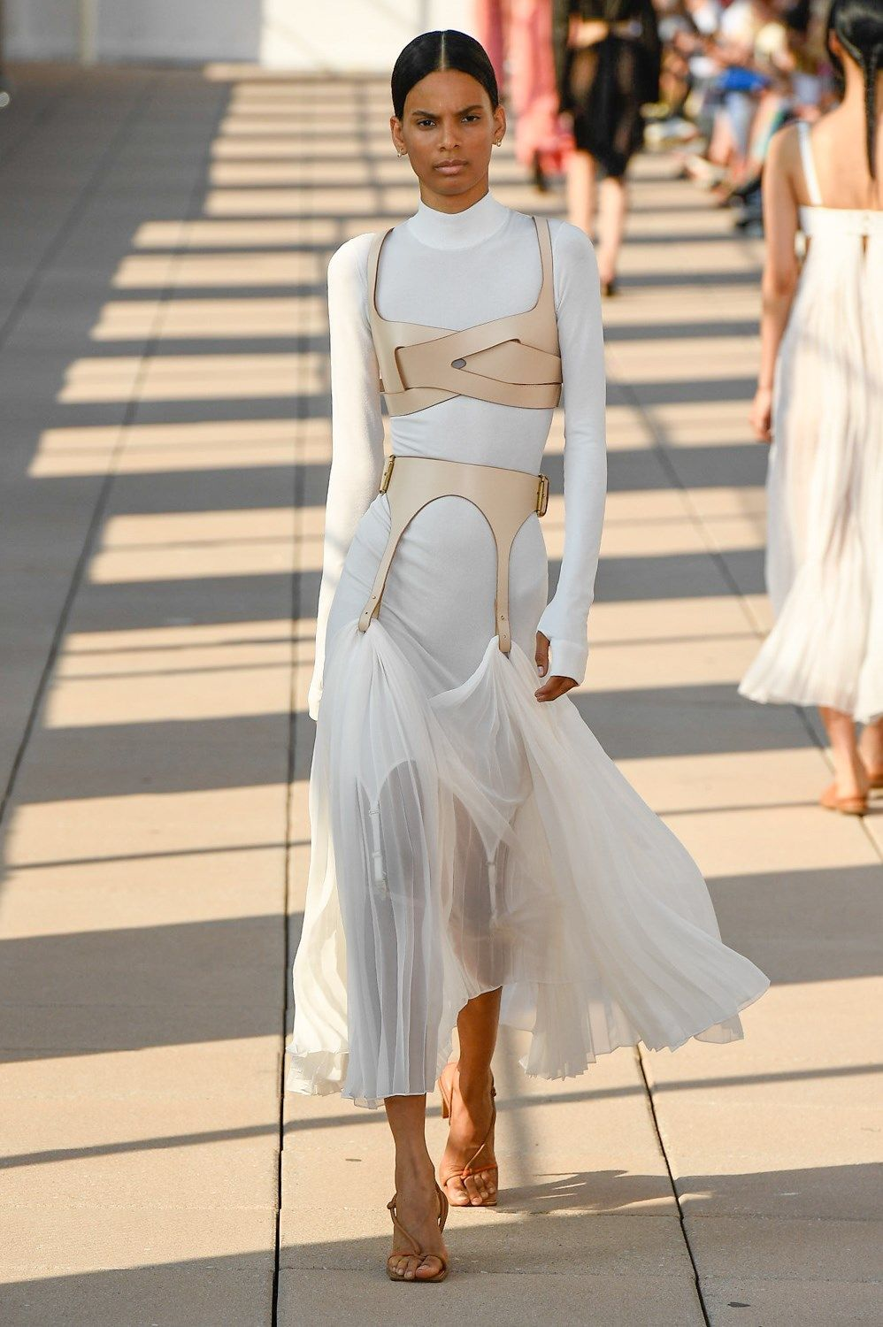 Dion Lee Spring 28 Fashion Show  The Impression in 28  High