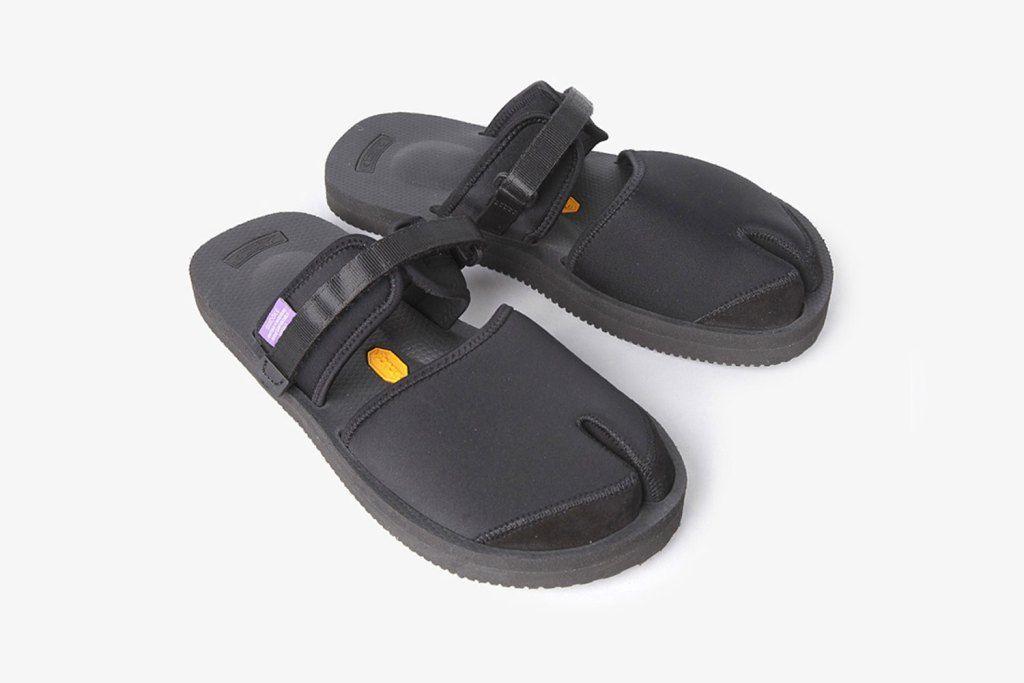 수이코크 x 네펜시스 2017 봄, 여름  컬렉션 nepenthes-suicoke-purple-label-split-toe-sandal - 23454