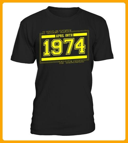 IwasthereAPRIL08TH1974 - Geburtstag shirts (*Partner-Link)