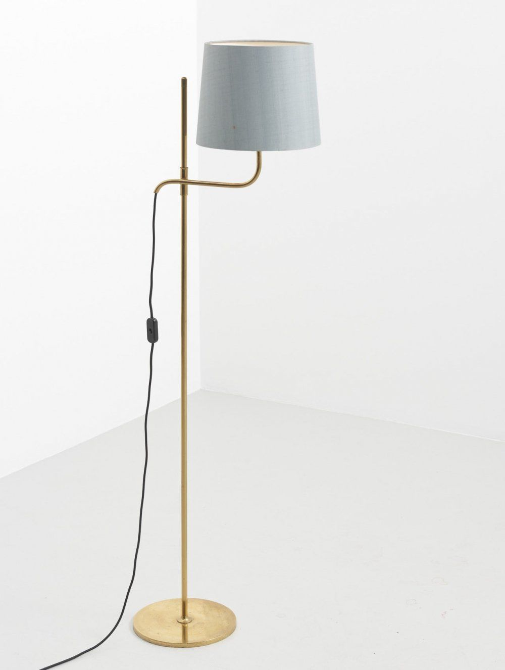 For Sale Floor Lamp In Brass By Florian Schulz 1960s Lamp Floor Lamp Floor Lamp Lighting