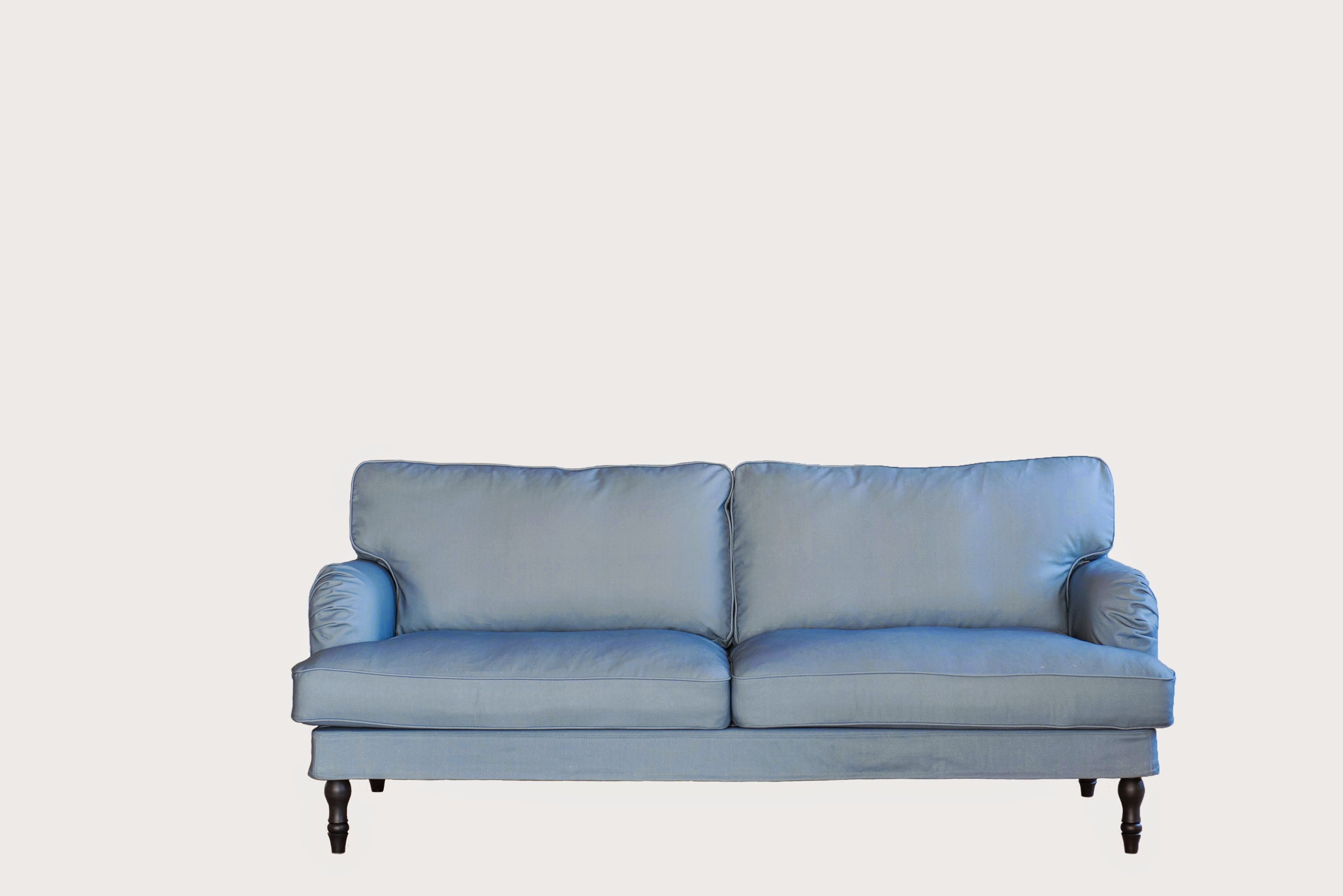 Stocksund 3 seater cover fabric Steel Blue Panama Cotton