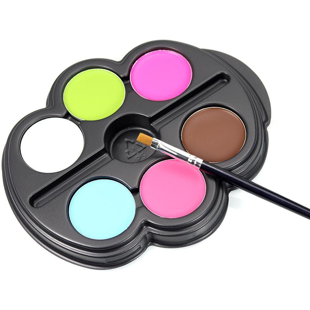 colors painting pigment set fluorescence face makeup body art
