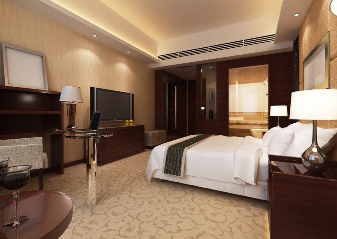 Luxury Hotel Bedroom | Hotel Bedroom Design Upscale Hotel Bedroom 3d Bedroom  Interior Hotel Part 67