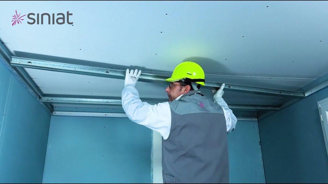 Poser Un Plafond Autoportant Facile Et Rapide Plafond Autoportant Plafond Placoplatre Plafond
