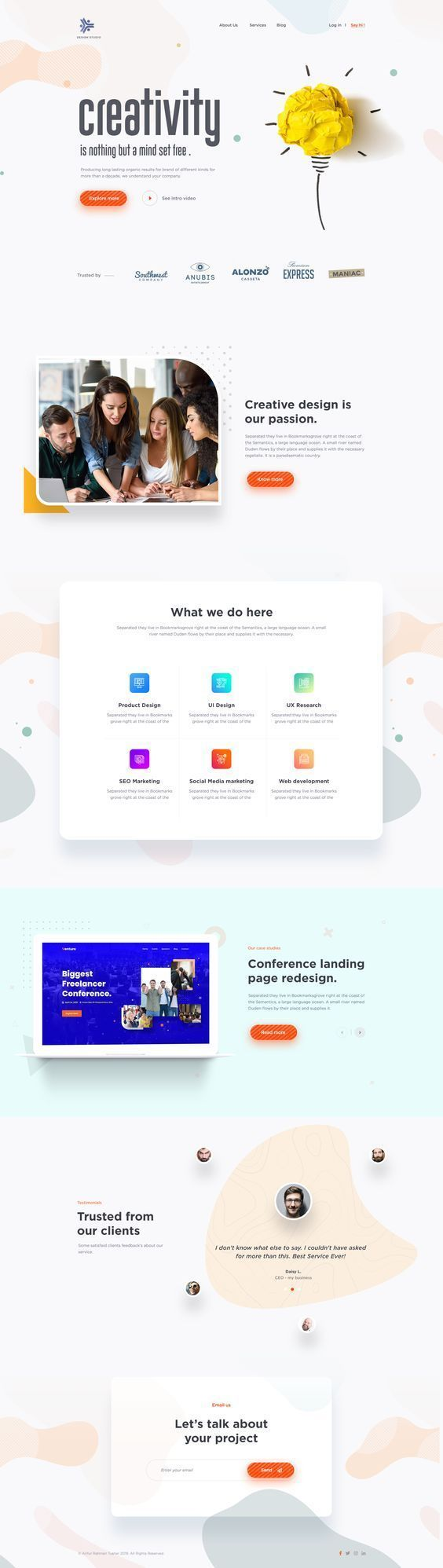 Need A Website To Grow Your Business Request Your Free Quote Tekly Fr In 2020 Wordpress Web Design Creative Web Design Web Design Font