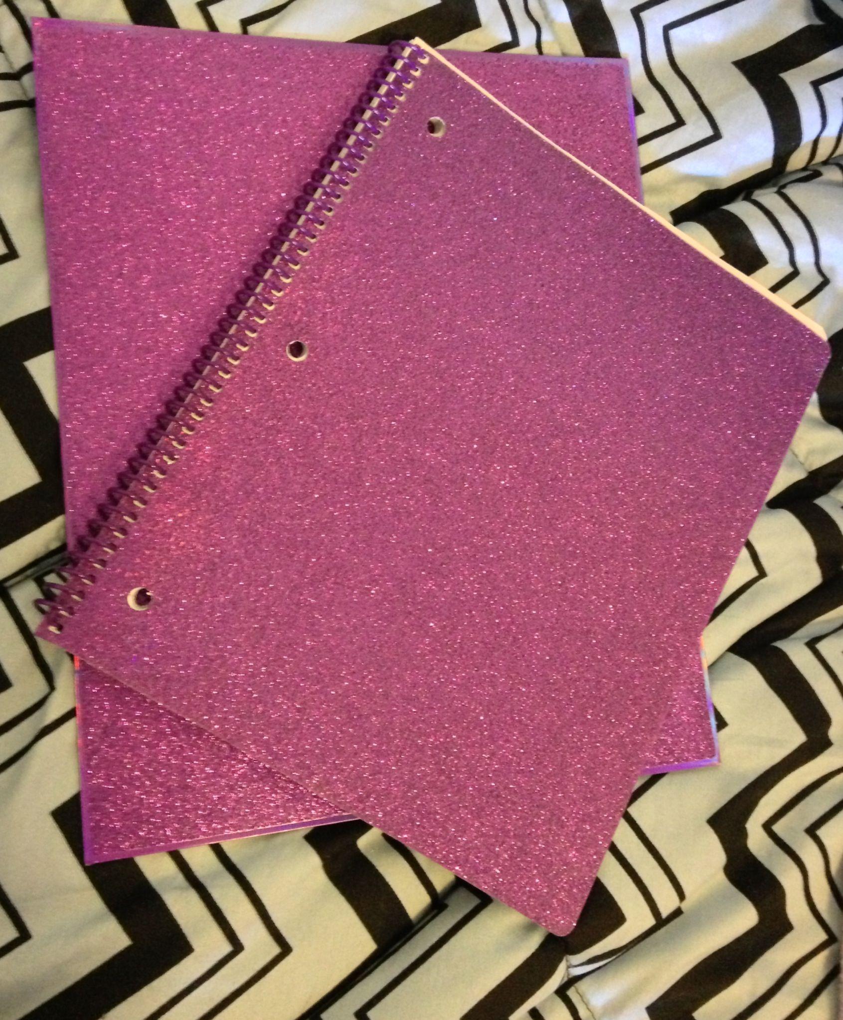 Purple sparkle notebook folder notebooks pinterest purple purple sparkle notebook folder arubaitofo Images