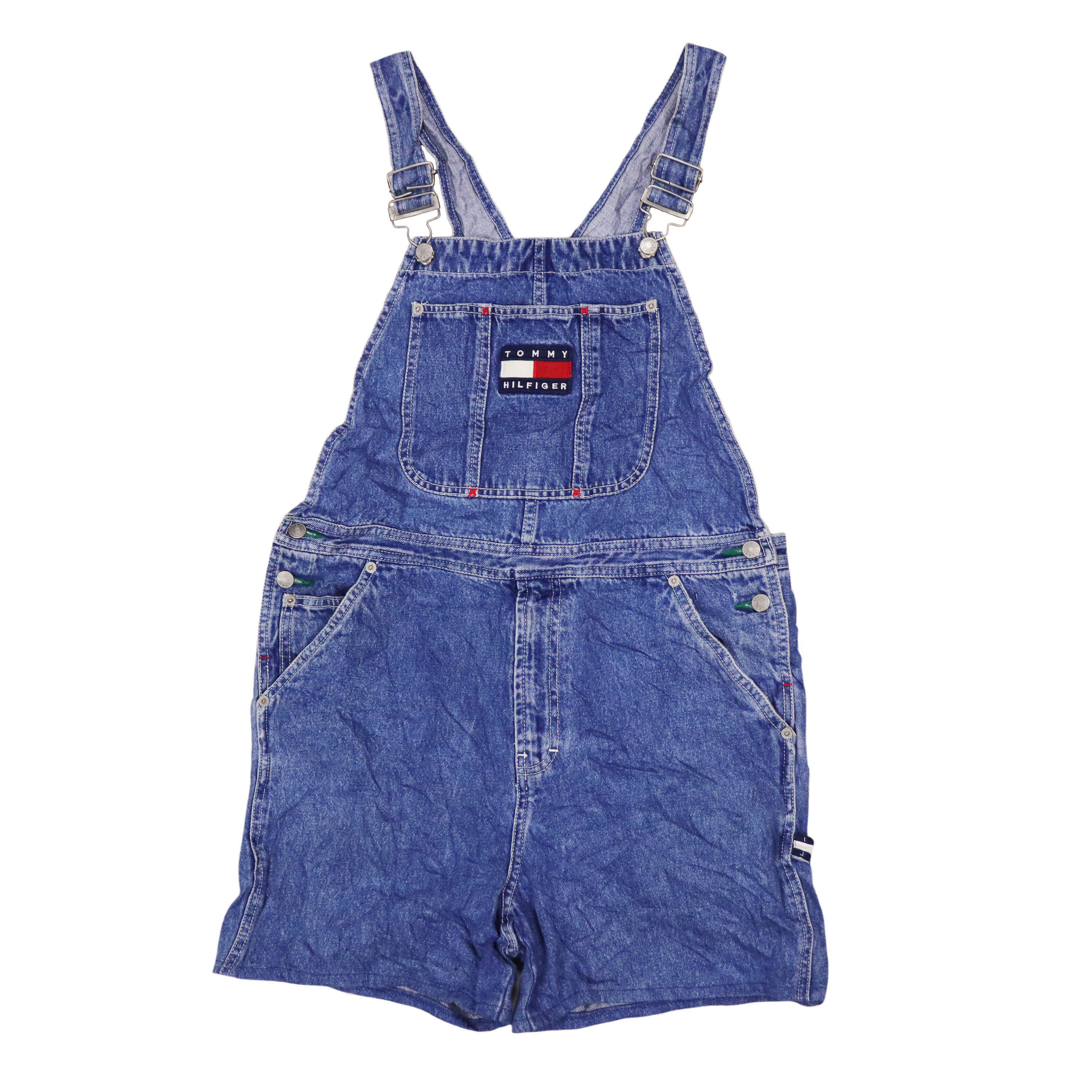 78d3155c Excited to share the latest addition to my #etsy shop: Vintage Tommy  Hilfiger Overalls Flag Logo Size L #clothing #pants #vintage #tommy # hilfiger #overalls ...