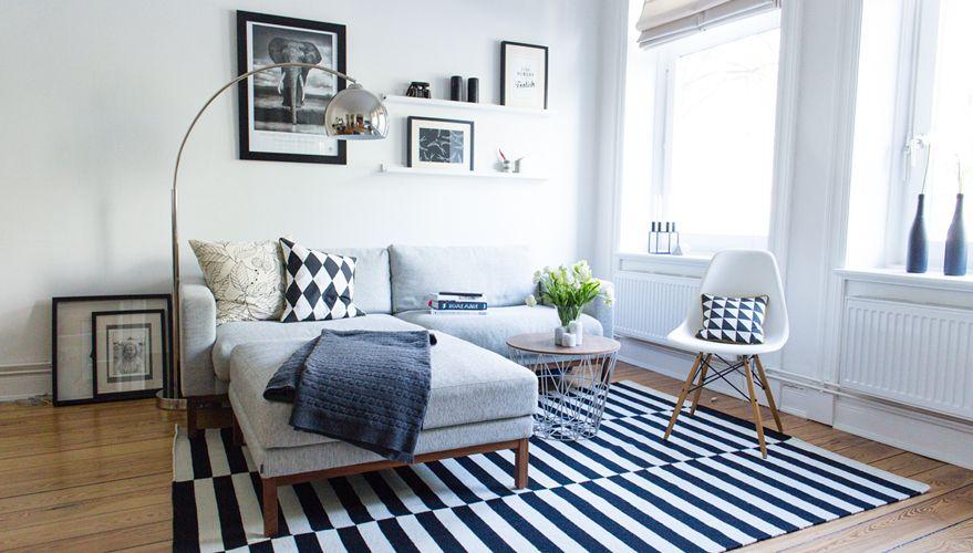 Wohnzimmer In Schwarz Weiß » Akzente Setzen   OTTO