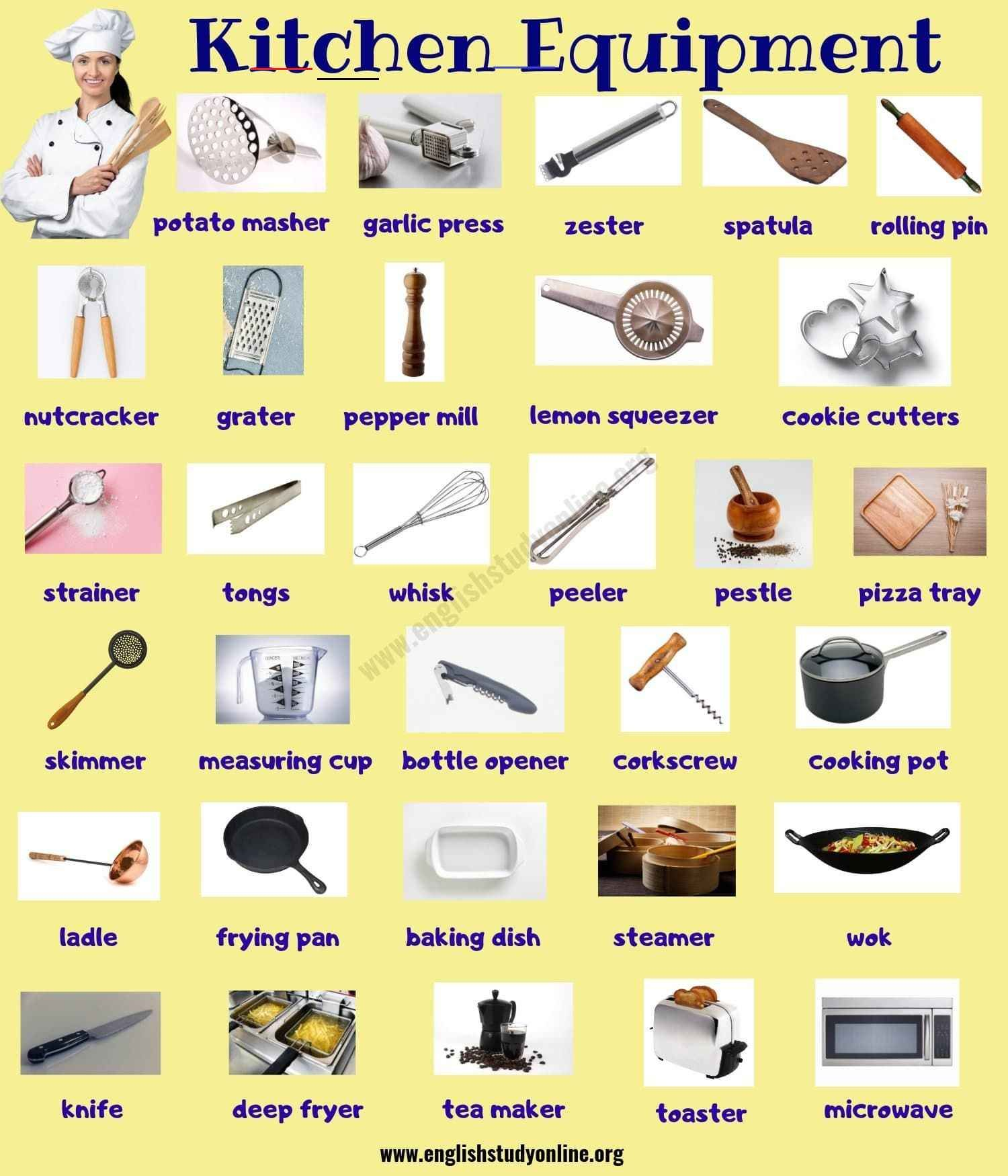 Kitchenutensils En