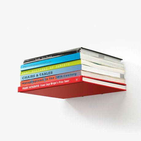 Conceal Floating Bookshelf By Umbra