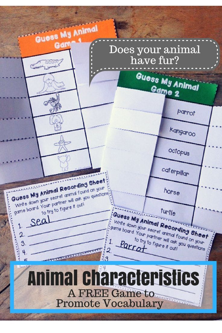 Guess My Animal FREEBIE | Animals and Habitats | Science resources