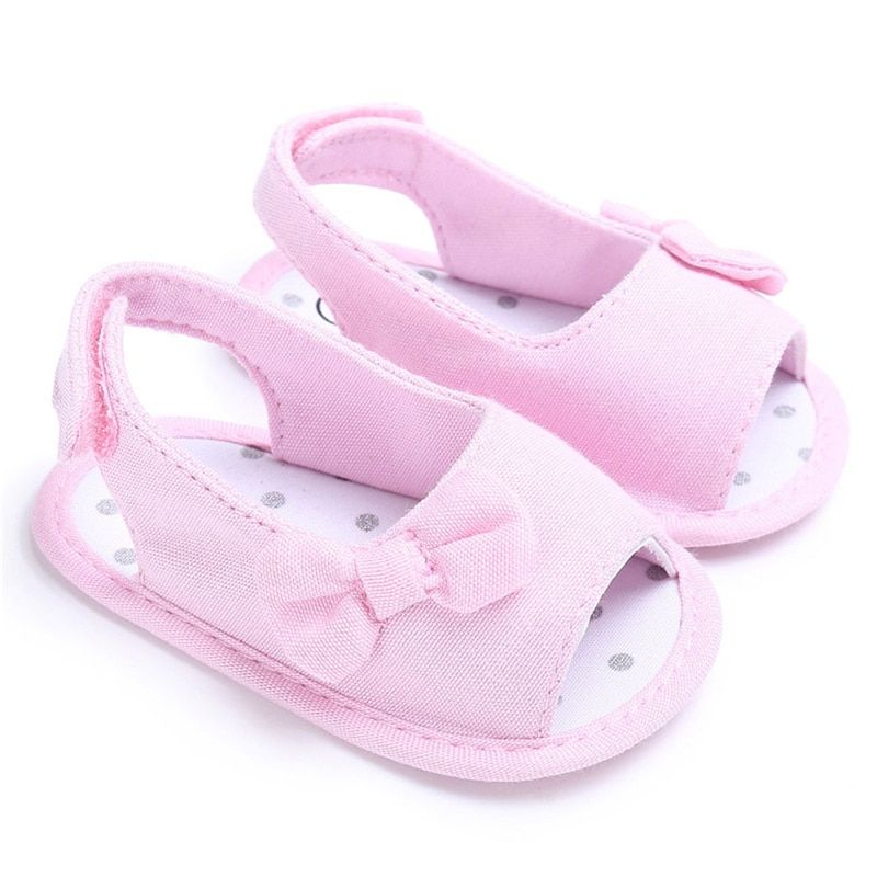 First Walkers Baby Shoes Baby Walking Shoes For 0-18 Months Newborn Infant Toddler Girls Soft Soled Non-slip Sneakers Bowknot Crib Shoes