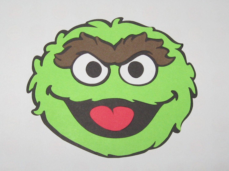 Pix For Oscar Sesame Street Face Oscar The Grouch Diy