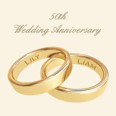 Sample 50th wedding anniversary invitation