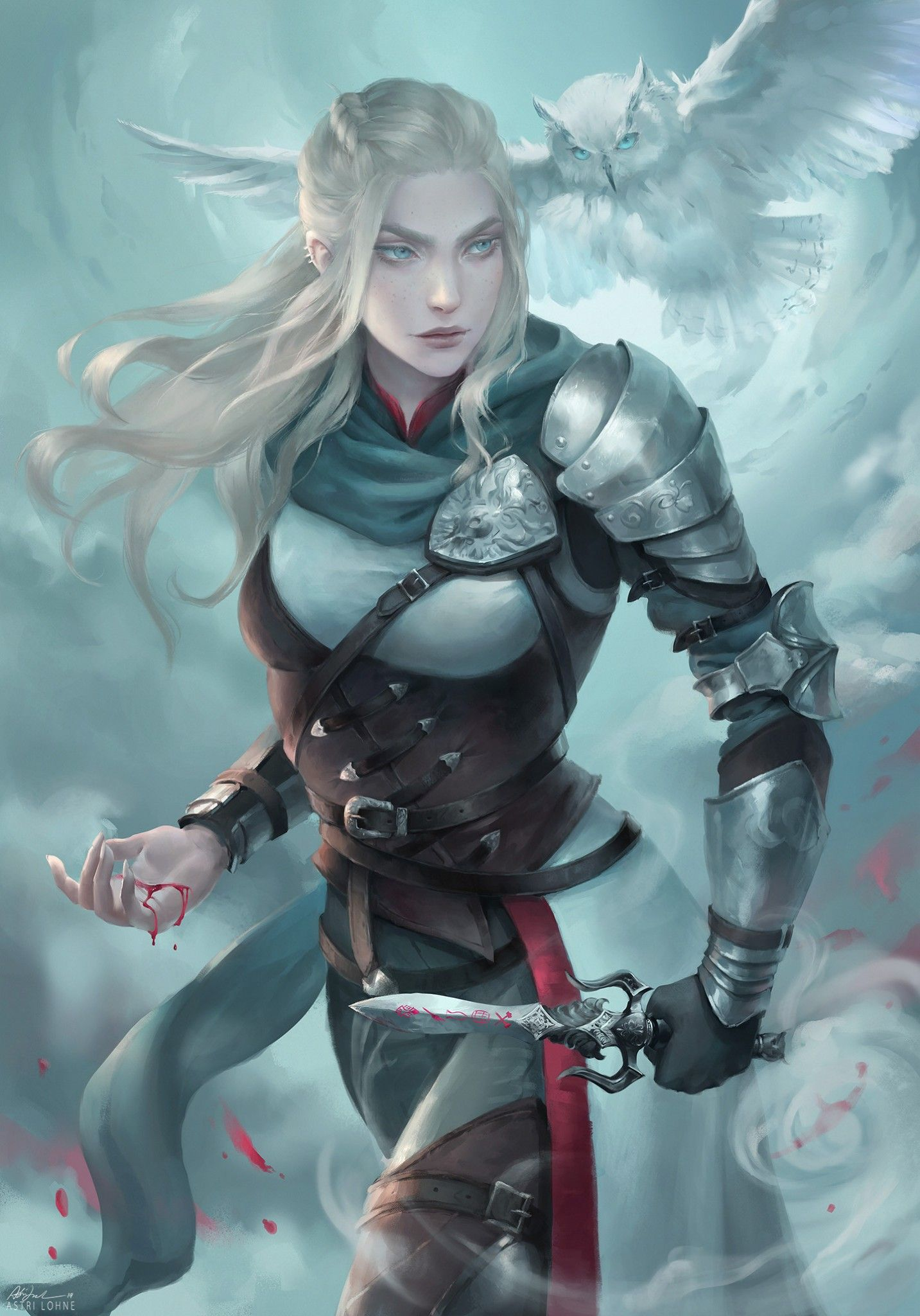 Fantasy Female Warrior Wallpapers (77+ images)