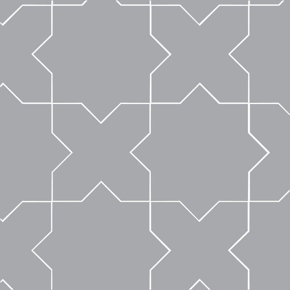 mini star cross tile fireclay tile