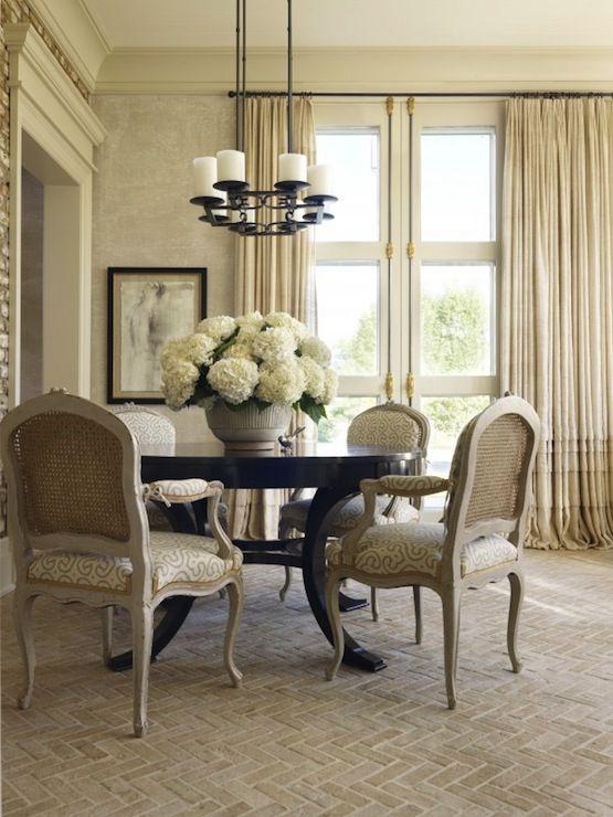suzie: hickman design associates - french dining room design with