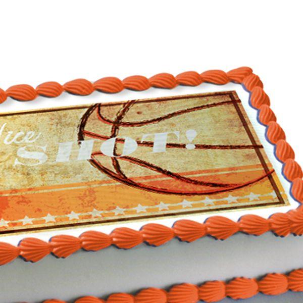 Basketball Cake Decorations Cakepins Com Party Ideas