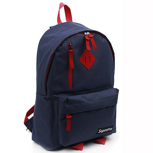 096fbdb679 Mens backpack Bookbag School bag Casual College Black Red Navy kpop Supreme  uk
