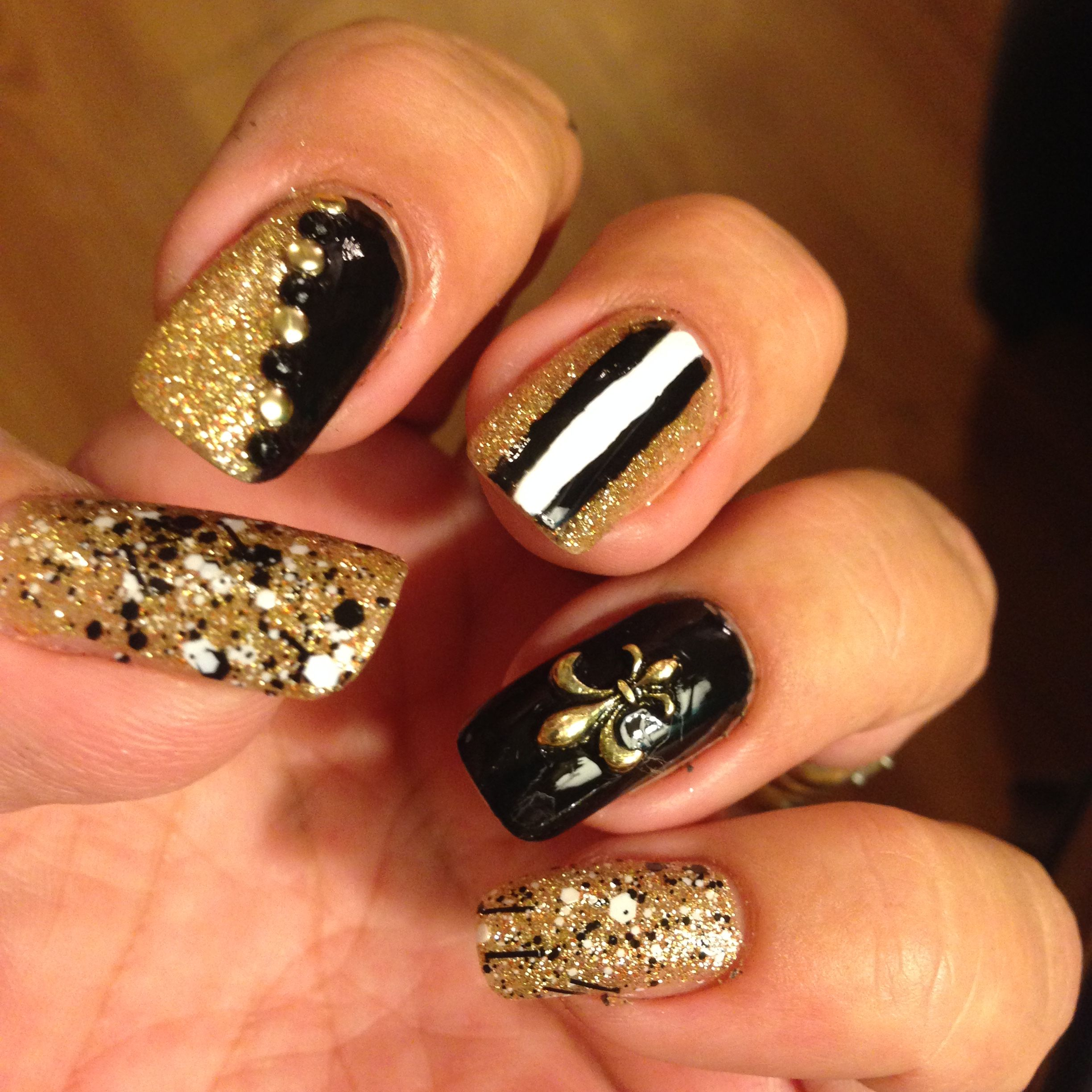 Ready for the game tomorrow. Go Saints! Who Dat! | My beginner\'s ...