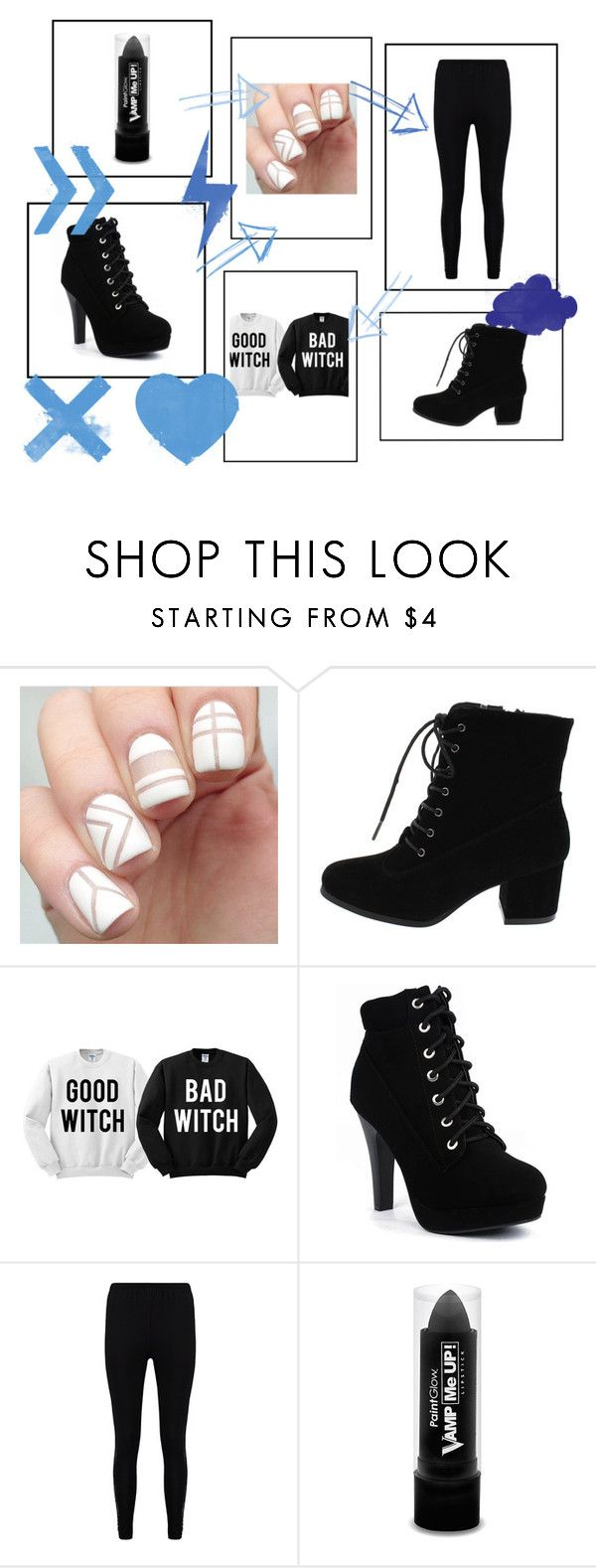 """""""best friend"""" by elizabeth-1234 on Polyvore featuring Boohoo and PaintGlow"""