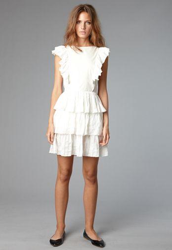 {summer white dress}