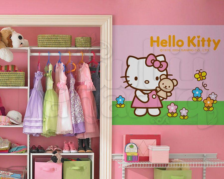 ورق حائط هالو كيتي Tanasuq Hello Kitty Sanrio Kitty