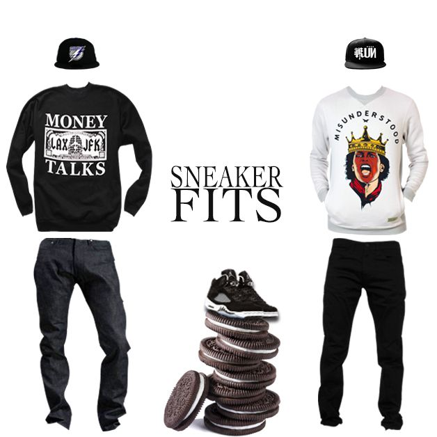 """What To Wear With The Air Jordan 5 """"Oreo"""" - SneakerFits ..."""