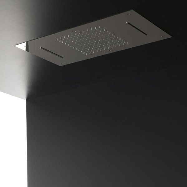 plafond de douche ciel de pluie cascades 70x38 cm en inox id es pour la maison pinterest. Black Bedroom Furniture Sets. Home Design Ideas