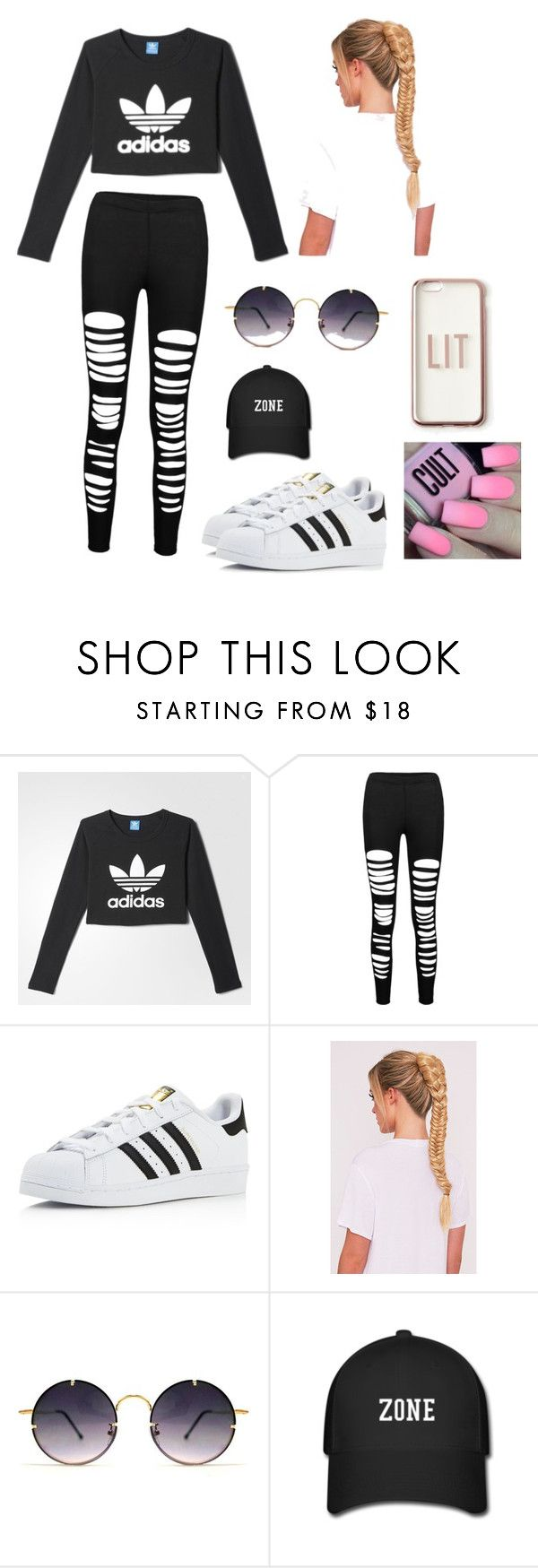 """""""Adidas or Nike"""" by iceprincess2005 on Polyvore featuring adidas, Spitfire and Missguided"""