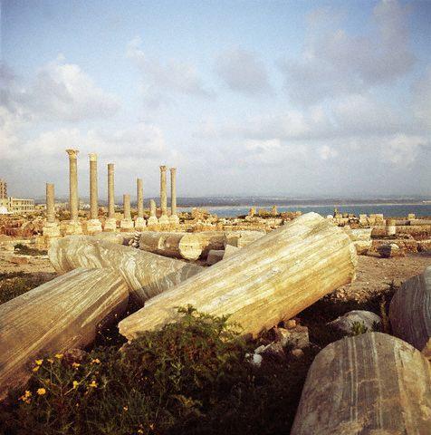 Roman Ruins in Tyre, Lebanon