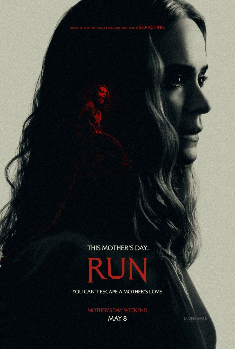 First Trailer and Posters for Thriller RUN, Starring Sarah