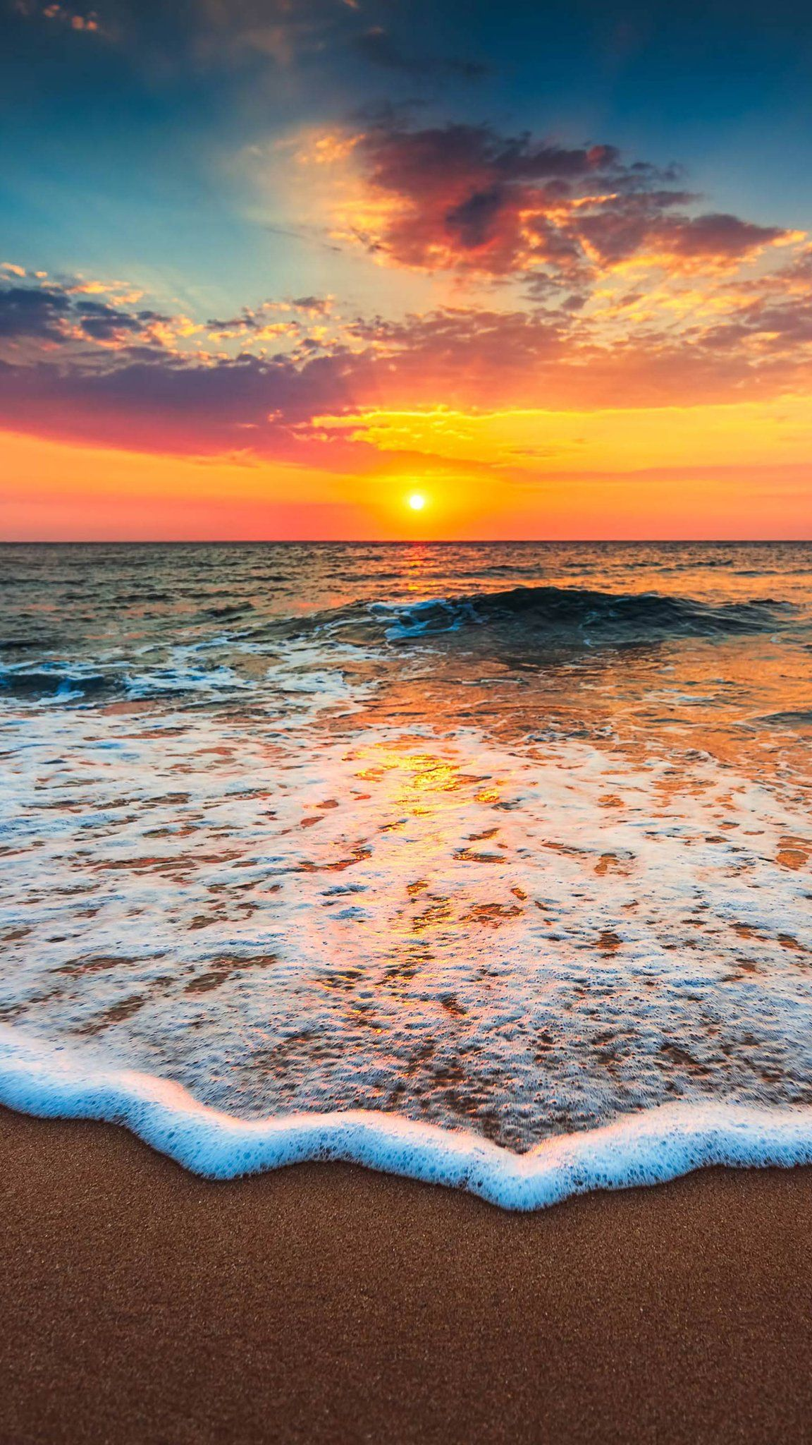 Naina El On Beach Sunset Photography Sunset Photography Beach Scenery