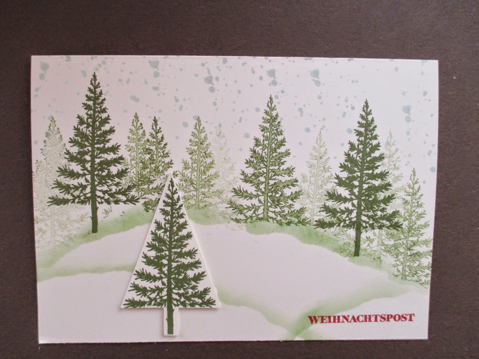 Sconebeker stempelscheune stampin up sets gorgeous - Pinterest weihnachtskarten ...