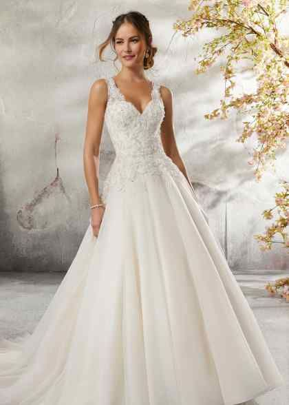 Wedding Dress out of Morilee by Madeline Gardner  – Leanne 6892