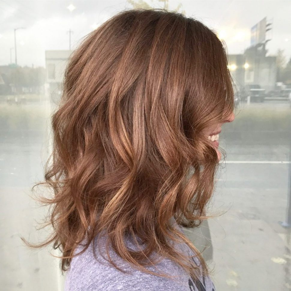 Hairstyles Beach Wave Perm Medium Hair Before And After Chic Length Wavy Hairstyles In Mid St Wavy Hairstyles Medium Medium Hair Styles Medium Length Wavy Hair