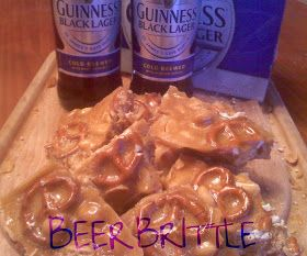 OH Bite it!: ~Black Lager Brittle..with Pretzels & Peanuts!