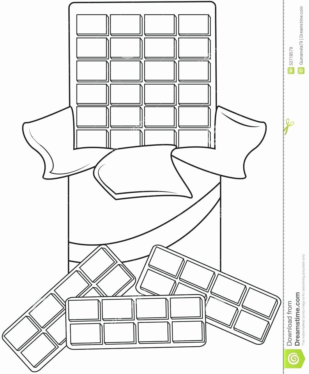 Chicken Nuggets Coloring Page Elegant Coloring Pages Candy Bar