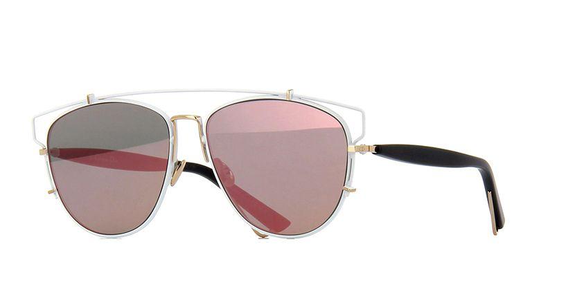 e7d9f25bdda Dior Technologic XG9AP White with Gold and Black Sunglasses ...