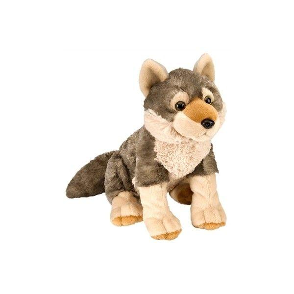Plush Wolf 12 Inch Stuffed Animal Cuddlekin By Wild Republic At Stuffed Safari Wolf Stuffed Animal Wolf Plush Plush Animals
