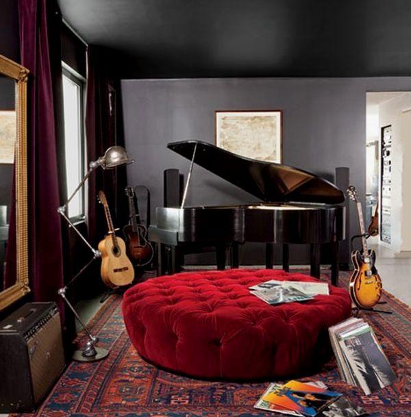 13 Stunning Home Music Room Ideas - #13 #home #ideas #music #room #stunning